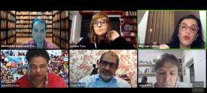 """Veja como foi a live sobre """"Neoliberalismo, política de austeridade e pandemia""""!"""